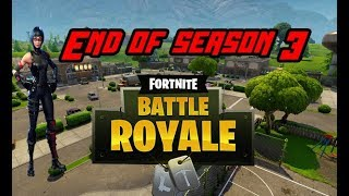 End of Fortnite season 3/ Season 4 leaks (Fortnite)