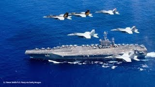 LET'S KICK THEIR ASS - U.S. CARRIER ENTERS PERSIAN GULF DURING IRAN MILITARY DRILLS     WARTHOG 2018