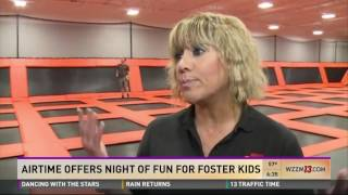 AirTime Grand Rapids gets involved in  Foster Care Month