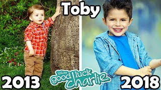 Good Luck Charlie Before and After 2018 (Then and Now)