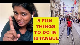 Top 5 FUN things to do in Istanbul, Turkey   Must do experiences   Travel Tips
