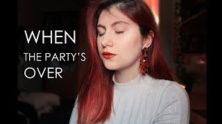 Billie Eilish - when the party's over (cover by Natacha Oliveira)