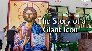 The Story of a Giant Icon – Monastery Icons
