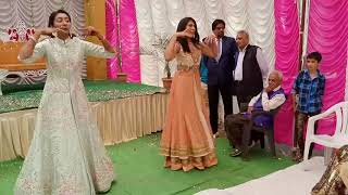 Sisters dance at Sangeet ceremony | Traditional dance | Wedding Dance Indore