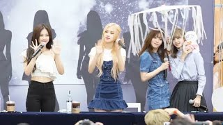 190630 Blackpink At Their Photobook Fansign Moments