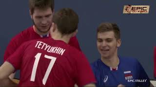 The best volleyball player in Russian - pavel tetyukhin