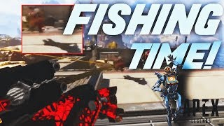 *NEW* FISHING TIME! Apex Legends Funny & Epic Moments #8