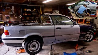Turning a Coupe Into a truck BMW E36