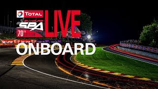 LIVE ONBOARD - HONDA CAR 30 - The Total 24 Hours Spa 2018