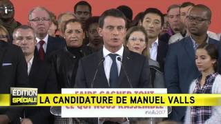 Valls candidat: RIP les gauches irréconciliables !