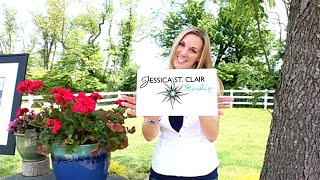 Artwork Outdoors with Jessica St. Clair