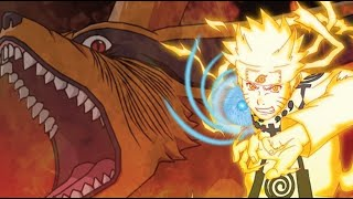 Naruto's true strength in all Battles   -- ###He had nine tails with him