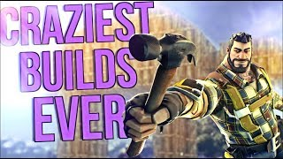 Top 10 Craziest Structures Ever Built in Fortnite Battle Royale