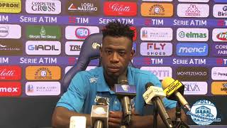 PianetaEmpoli.it | Afriyie Acquah in conferenza stampa