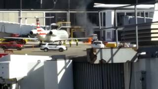 O'Hare Tow Tractor Fire