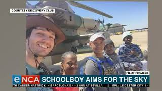 Cape Town schoolboy aims for the sky