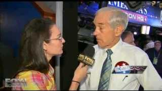 Fox Business Interview with Ron Paul at GOP Convention Discusses Gary Johnson