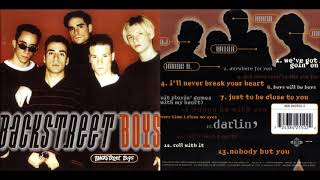 Backstreet Boys - Get Down (You're the One for Me) 1996 CD