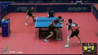 ITTF World Tour Polish Open 2013 QF CHIANG Hung-C. HUANG Sheng-S. vs MATSUDAIRA Kents NIWA Koki