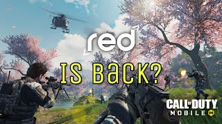 RED IS BACK? CALL OF DUTY MOBILE FIRST LOOK