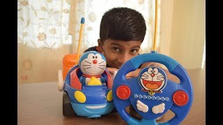 Doraemon Toys For Kids - Doraemon Remote Controlled (RC) Toy Car