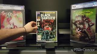 CGC COMIC HAUL! MY FIRST 9.9! MY FIRST AUCTION WIN! AND A  NOT SO TYPICAL UNBOXING!