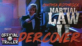 MARTIAL LAW II UNDERCOVER (1991) | Official Trailer | 4K