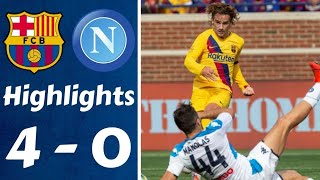 Napoli vs Barcelona 0-4 all goals and highlights