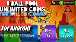 8 Ball Pool  Mod Unlimited Coins For Android Apk
