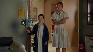 Sheldon at hospital and found someone...YOUNG SHELDON 02X12