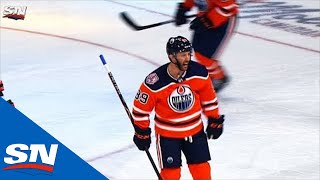 Sam Gagner Scores First Goal In Oilers Uniform Since 2014