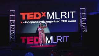 Art and Entrepreneurship | Drishti Nagda | TEDxMLRIT