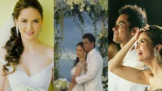KRISTINE HERMOSA AND OYO SOTTO WEDDING MOMENTS
