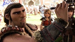 How To Train Your Dragon 3 'Grimmel' Movie Scene (2019) HD