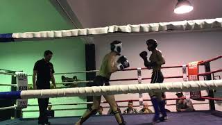 Nail Tosun vs Joel 67kg Amateur Kickboxing Fight Round: 2 T.K.O