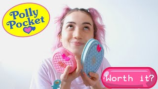 ♡ Polly Pocket HotTopic In-Depth Makeup Review ♡ Swatches + Trying a Look