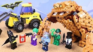 Lego Batman Battles Clayface and Rescues Pets from the LEGO Pet Shop | ToysReviewToys | Kids Toys