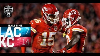Chargers vs. Chiefs 1st Half Highlights! | Week 15 AFC West Showdown | Thursday Night Football