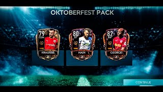 THE BEST OCTOBERFEST PACK OPENING EVER | ELITES PULLED || FIFA MOBILE 20