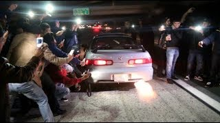 Street Racers SHUT DOWN California Highway! COPS FAILED*