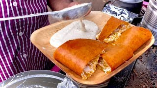 Ram Ki Bandi Dosa Point Starts at 3 AM | Hyderabad Street Food | Indian Street Food