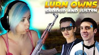 Play PUBG MOBILE with beautiful girl over night