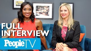 Mira Sorvino Reacts To 'Romy And Michelle' & More Of Her Movies | PeopleTV | Entertainment Weekly