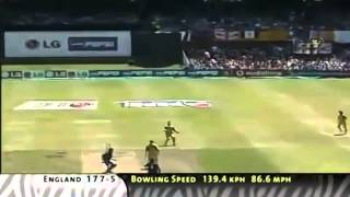 Andy bichel - lethal spell - 20/7- worldcup 2003 memories - must watch hd