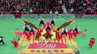 Paramour - Macy's Thanksgiving Day Parade 2016