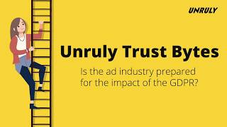 Unruly Trust Bytes - Is The Ad Industry Ready For GDPR's Impact?
