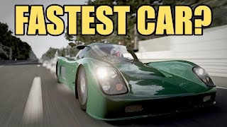 Fastest Car in Forza 6? 1177 hp Ultima GTR
