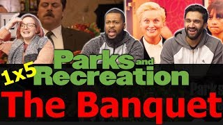 Parks and Recreation - 1x5 The Banquet - Reaction