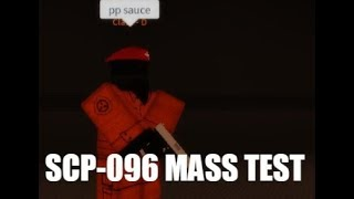 SCP-096 Mass Test+CD Escape| Creepy Sin's SCPF