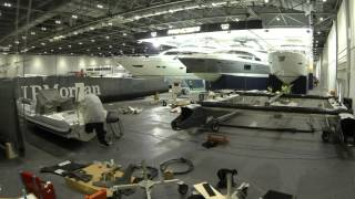 AC45 London Boat Show display build